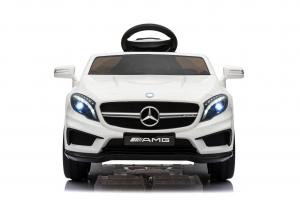 Masinuta electrica Mercedes GLA 45 2x30W STANDARD #Alb1