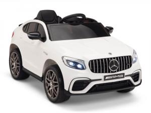 Masinuta electrica Mercedes GLC 63s 2x35W 12V STANDARD #Alb0