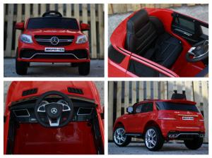 Masinuta electrica Mercedes GLE63S 2x22W 12V PREMIUM #Rosu16