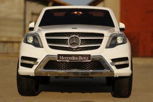 Masinuta electrica Mercedes GLK350 PREMIUM 2x35W 2X6V #Alb1