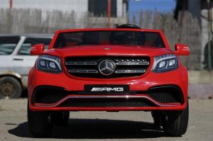 Masinuta electrica Mercedes GLS63 AMG 4x4 PREMIUM 24V #Rosu1