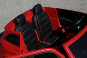 Masinuta electrica Mercedes GLS63 AMG 4x4 PREMIUM 24V #Rosu5