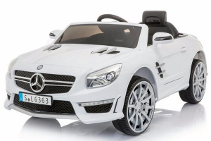 Masinuta electrica Mercedes SL63 AMG STANDARD 12V #Alb0