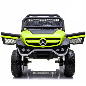 Masinuta electrica Mercedes UNIMOG 4x4 PREMIUM #Verde4