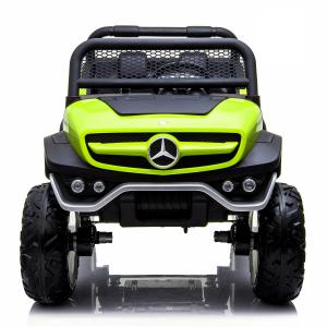 Masinuta electrica Mercedes UNIMOG 4x4 PREMIUM #Verde1