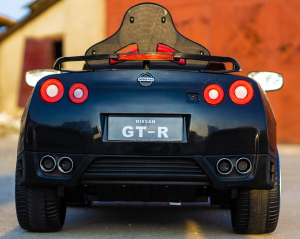 Masinuta electrica Nissan GTR R35 STANDARD 2x 35W 12V #Negru3