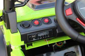 Masinuta electrica POLICE BBH-318 2x35W STANDARD #Verde8
