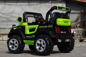 Masinuta electrica POLICE BBH-318 2x35W STANDARD #Verde5