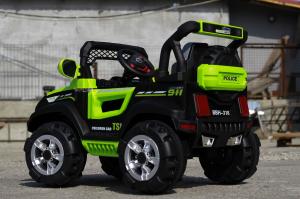 Kinderauto POLICE BBH-318 2x35W STANDARD #Verde5
