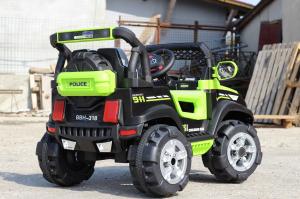 Masinuta electrica POLICE BBH-318 2x35W STANDARD #Verde6