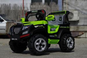 Kinderauto POLICE BBH-318 2x35W STANDARD #Verde2