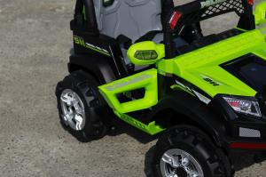 Masinuta electrica POLICE BBH-318 2x35W STANDARD #Verde4