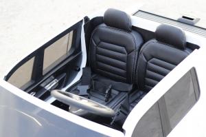 Masinuta electrica copii 2-6 ani VW Amarok alba [9]