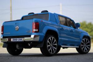 Masinuta electrica VW Amarok Pickup PREMIUM #Albastru5
