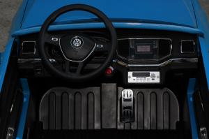 Masinuta electrica VW Amarok Pickup PREMIUM #Albastru6
