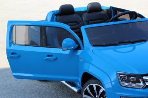 Masinuta electrica VW Amarok Pickup PREMIUM #Albastru9