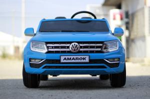 Masinuta electrica VW Amarok Pickup PREMIUM #Albastru1