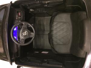 Masinuta electrica VW Touareg CU ROTI MOI 2x 35W 12V #Negru10