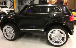 Masinuta electrica VW Touareg CU ROTI MOI 2x 35W 12V #Negru6