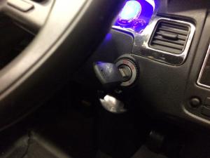 Masinuta electrica VW Touareg CU ROTI MOI 2x 35W 12V #Negru9
