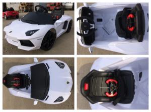 Masinuta electrica Lamborghini Aventador LP 700-4 STANDARD #Alb7