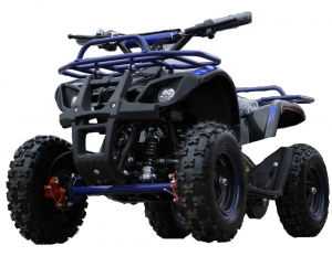Mini ATV electric NITRO Torino Deluxe Quad 800W 36V #Albastru0