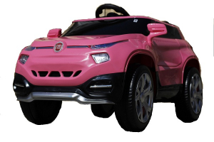 Masinuta electrica Fiat FCC4 2x25W 12V STANDARD #Roz [0]