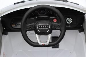 Masinuta electrica Audi Q8 STANDARD 12V #Alb9