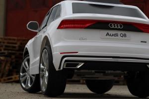 Masinuta electrica Audi Q8 STANDARD 12V #Alb1