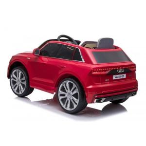 Masinuta electrica Audi Q8 STANDARD 12V #Rosu [4]