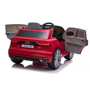 Masinuta electrica Audi Q8 STANDARD 12V #Rosu [9]