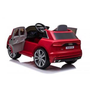 Masinuta electrica Audi Q8 STANDARD 12V #Rosu7