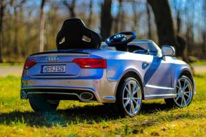 Masinuta electrica Audi RS5 2x35W STANDARD 12V MP3 #Gri3