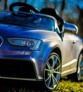 Masinuta electrica Audi RS5 2x35W STANDARD 12V MP3 #Gri9