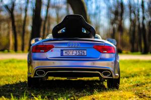 Masinuta electrica Audi RS5 2x35W STANDARD 12V MP3 #Gri2