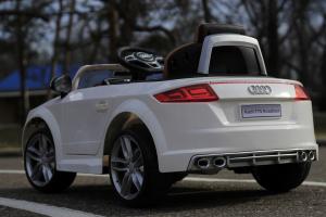 Masinuta electrica Audi TTS 2x 30W 12V PREMIUM #Alb10