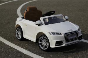 Masinuta electrica Audi TTS 2x 30W 12V PREMIUM #Alb12