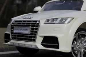Masinuta electrica Audi TTS 2x 30W 12V PREMIUM #Alb9