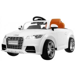 Masinuta electrica Audi TTS 2x 30W 12V PREMIUM #Alb0