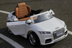Masinuta electrica Audi TTS 2x 30W 12V PREMIUM #Alb2