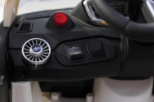 Masinuta electrica Audi TTS 2x 30W 12V PREMIUM #Alb5