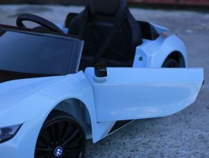 Masinuta electrica BMW i8 Coupe STANDARD #Albastru3