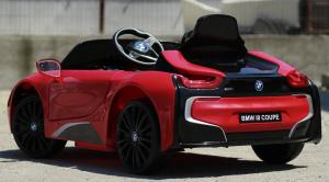 Masinuta electrica BMW i8 Coupe STANDARD #Rosu [5]