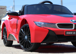 Masinuta electrica BMW i8 Coupe STANDARD #Rosu [10]