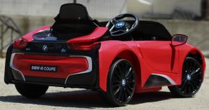 Masinuta electrica BMW i8 Coupe STANDARD #Rosu [6]