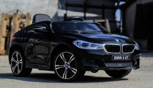 Masinuta electrica Bmw Seria 6 GT 12V PREMIUM #Negru2