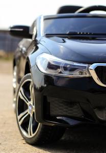 Masinuta electrica Bmw Seria 6 GT 12V PREMIUM #Negru11