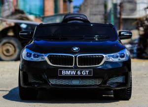 Masinuta electrica Bmw Seria 6 GT 12V PREMIUM #Negru5