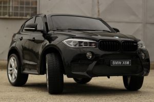 Masinuta electrica BMW X6M 12V XXL PREMIUM #Negru3