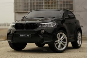 Masinuta electrica BMW X6M 12V XXL STANDARD #Negru2